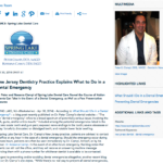 new jersey dentist, dental emergency